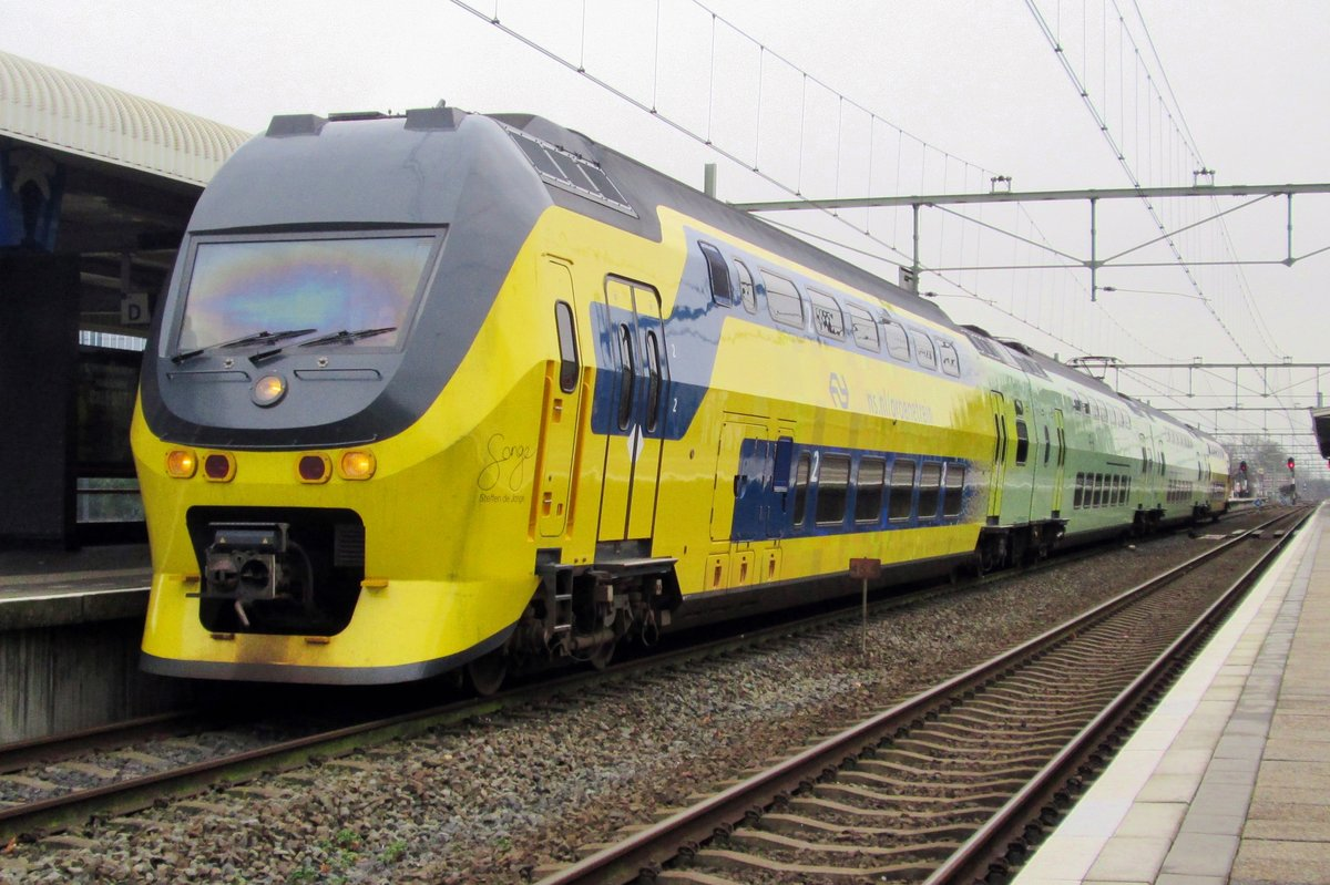 On 13 December 2014 NS 9556 stands in Roermond.
