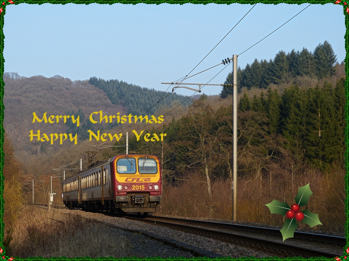 Sending wishes to all railfans and their family for a beautiful Holiday Season and a peaceful New Year.