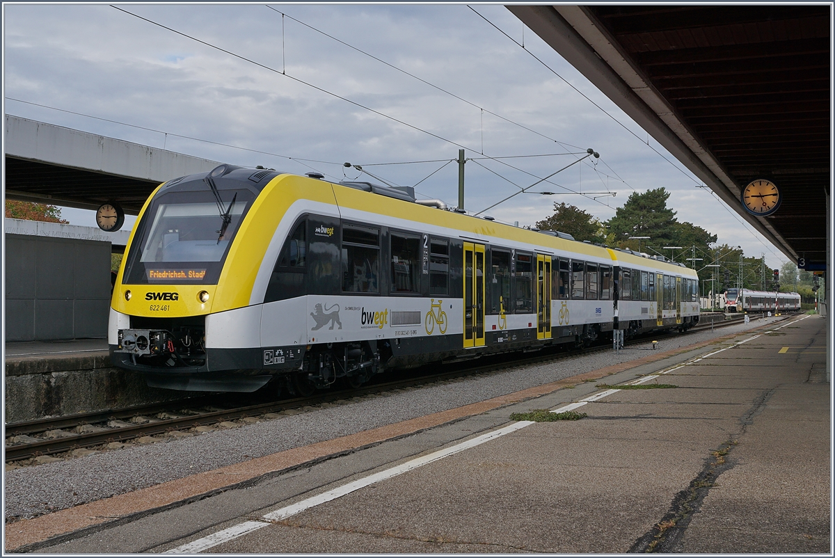 The 622 461 in Radolzell. 