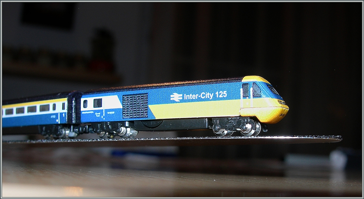 The beautifull Class 43 HST 125 from the T Gauge.