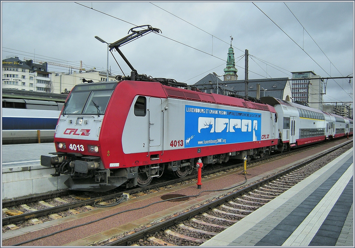 The CFL 4013 in Luxembourg.