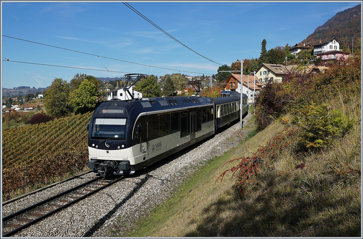 The MOB Belle Epoque Service from Zweismmen to Motnreux by Planchamp.