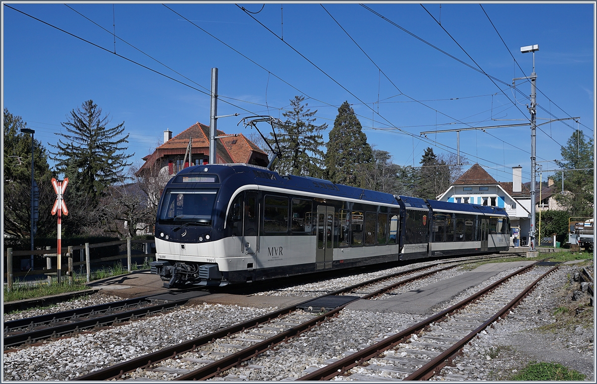 The MVR ABeh 2/6 7501 in Fontanivent.