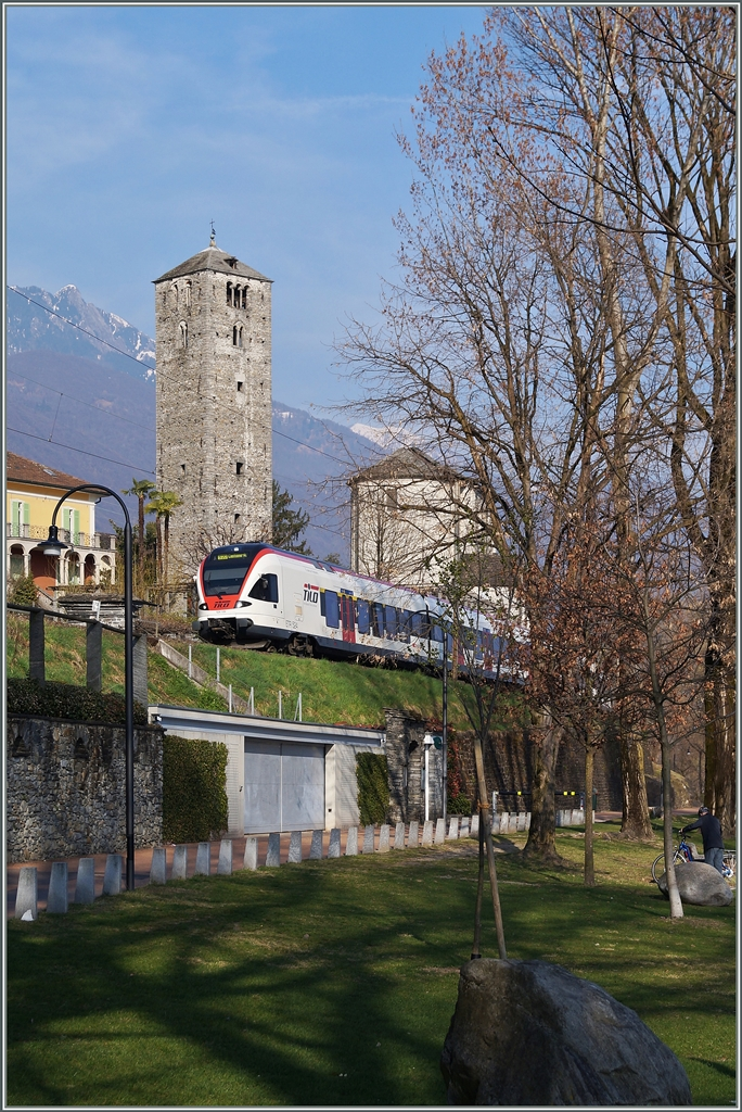 The SBB 524 109 by Muralto. 18.03.2014