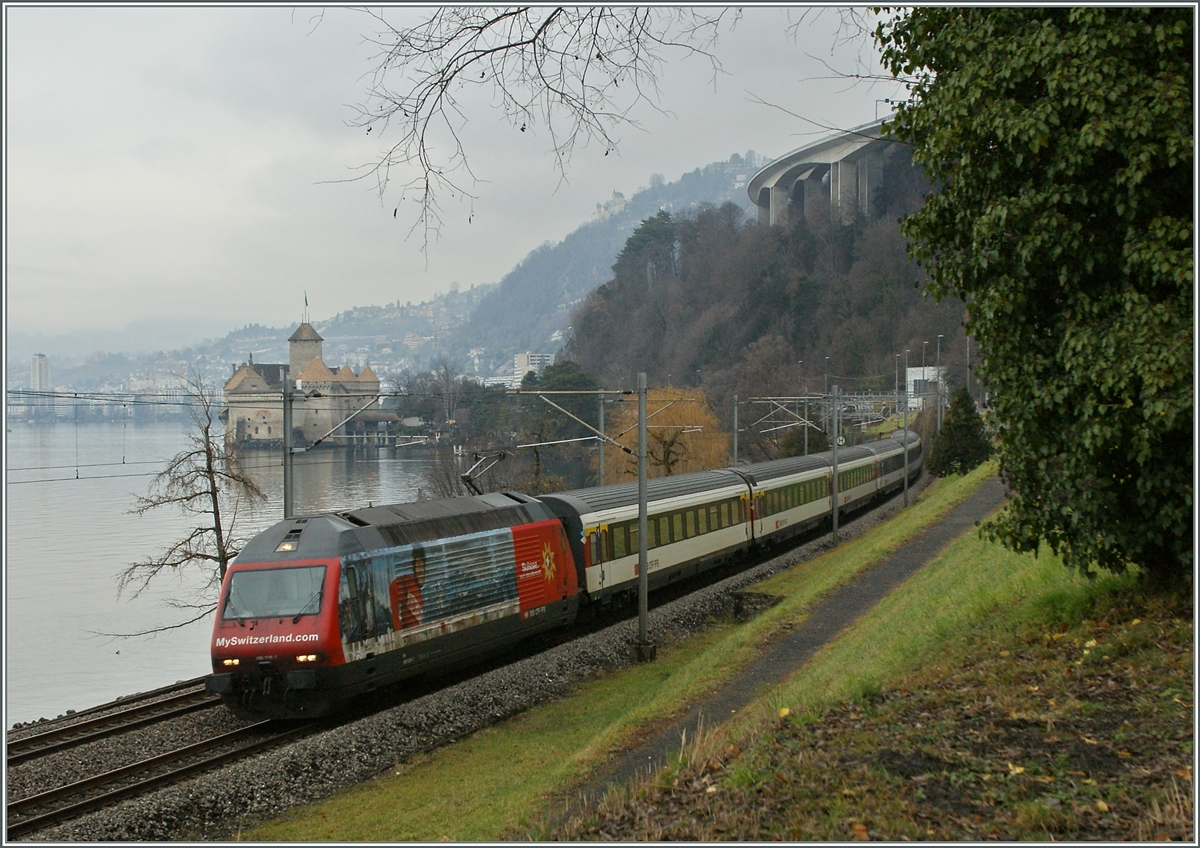 The SBB Re 460  my switzerland.com  by theCastle of Chillon.