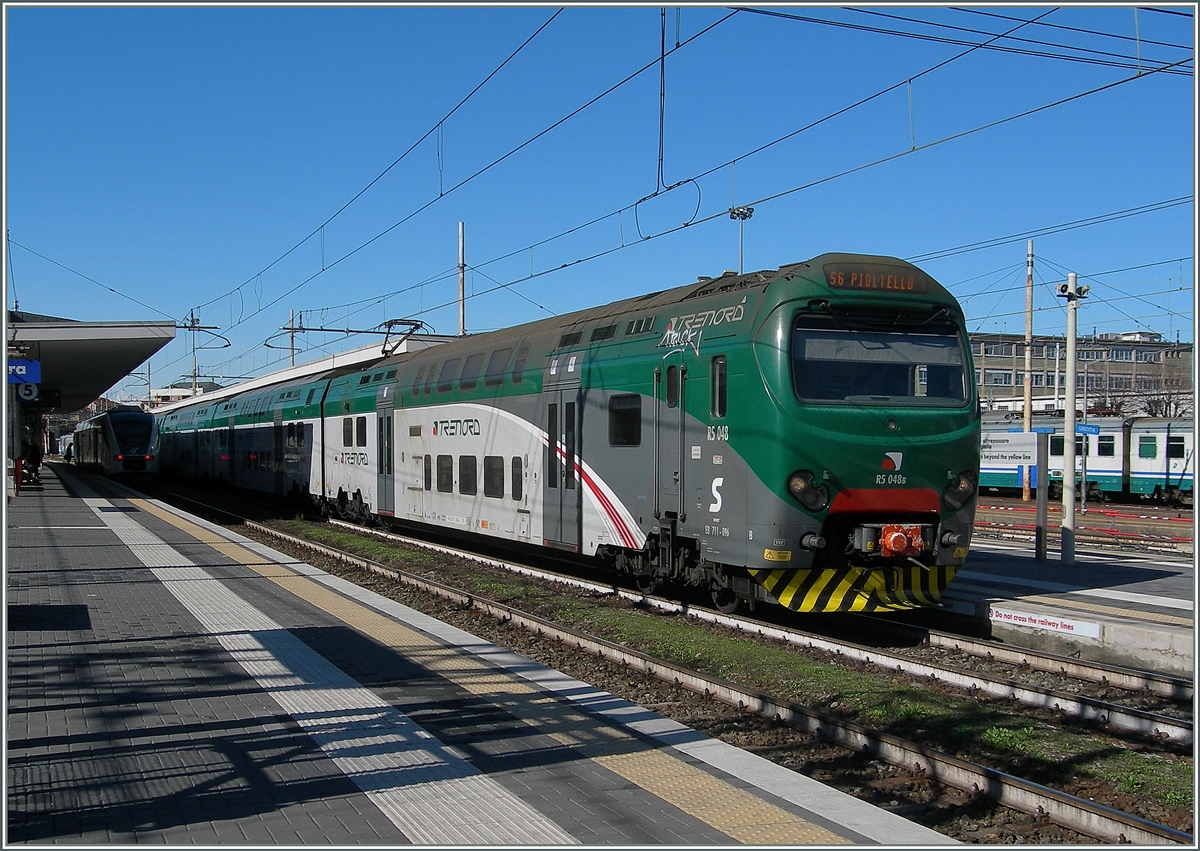 The trenord 711 096 in Novara.