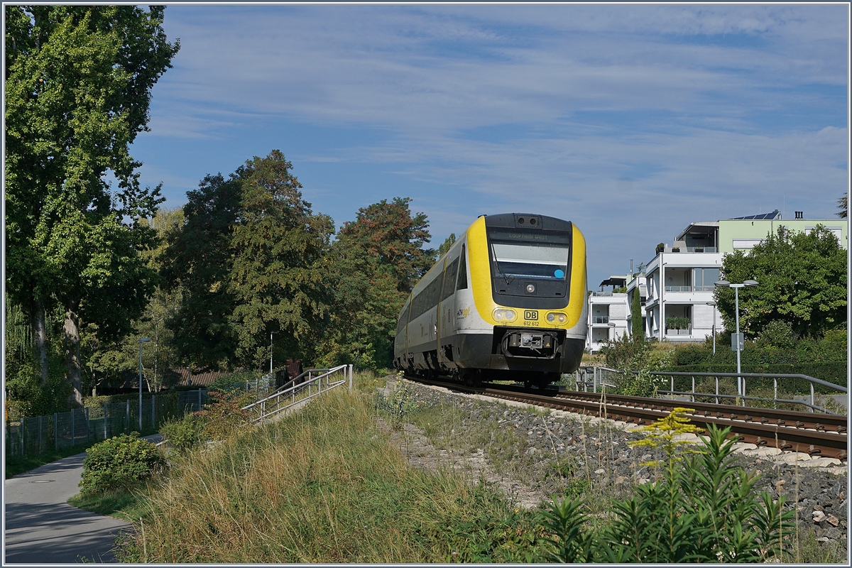 The VT 612 612 and an other one by Überlingen.