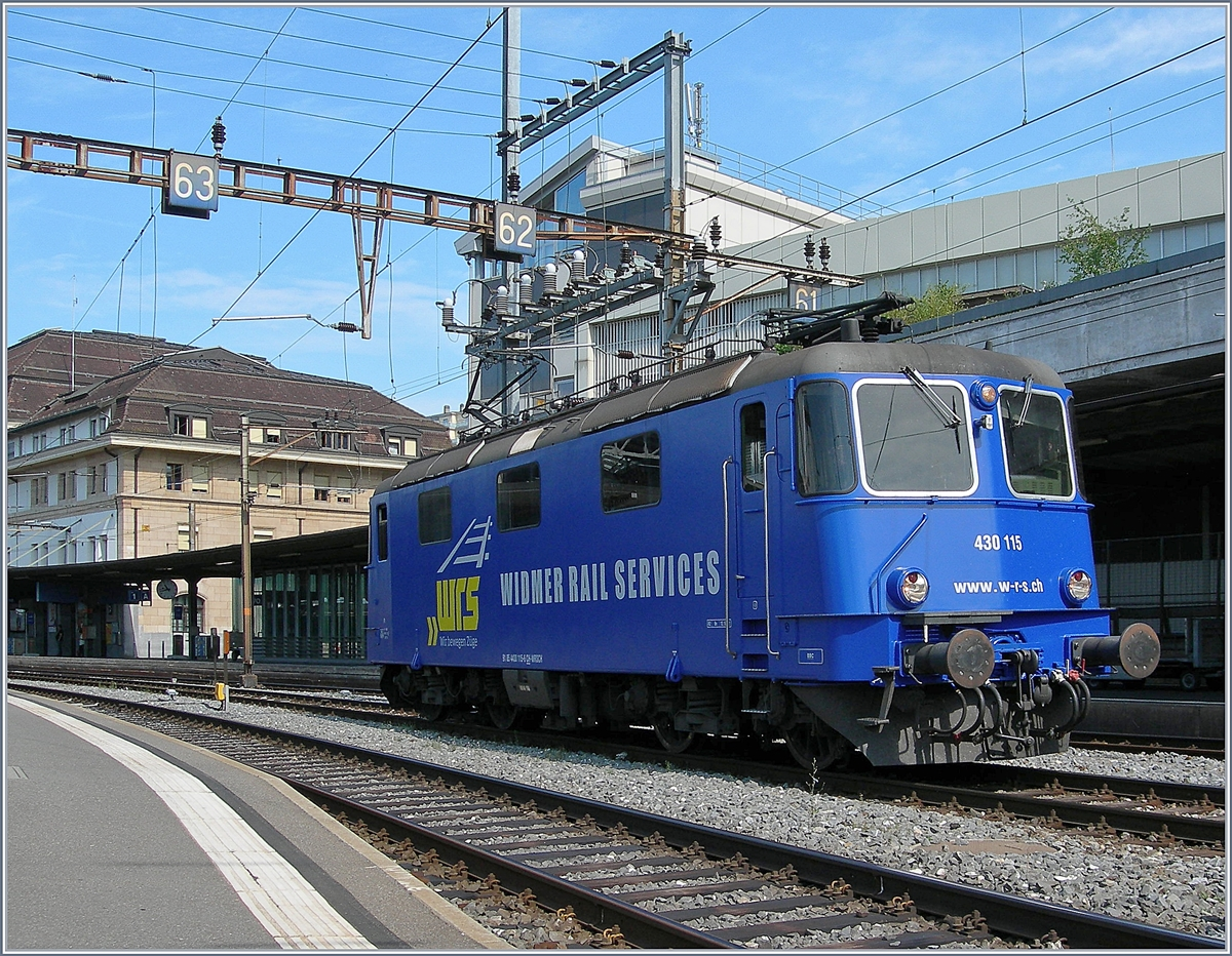 The WRS Re 430 115 in Lausanne  20 07 2018 - Rail-pictures com