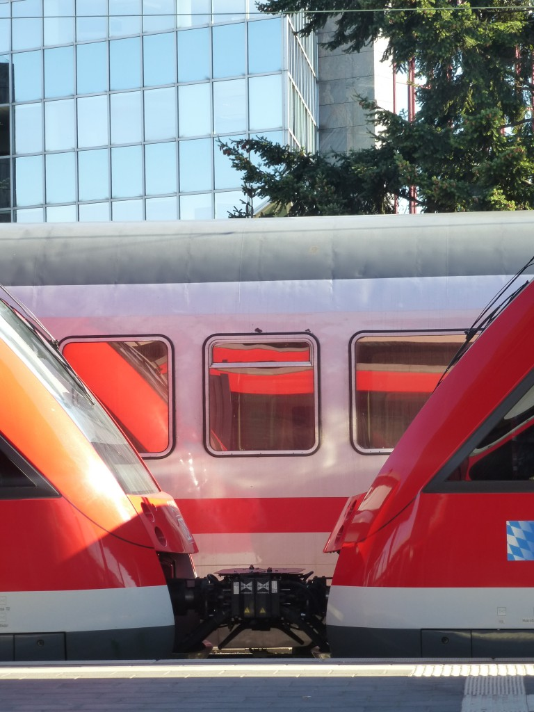 Two ET 648 coupled in Nuremberg main station on September 9th 2013.