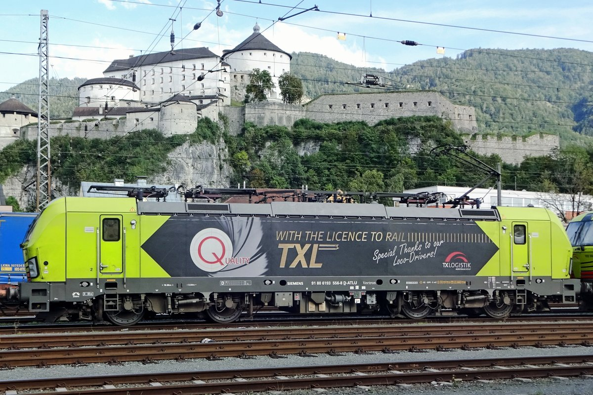 TX Log 193 556 has 'License to Rail' at Kufstein being secvond in command on 18 May 2018.