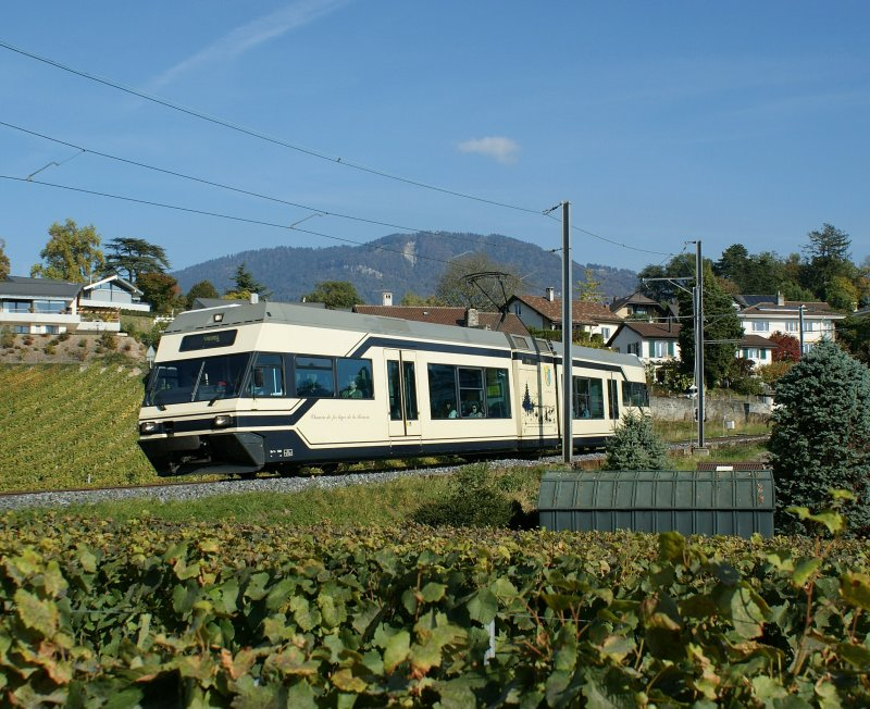 CEV GTW by Clies in the Vineyards of Vevey.