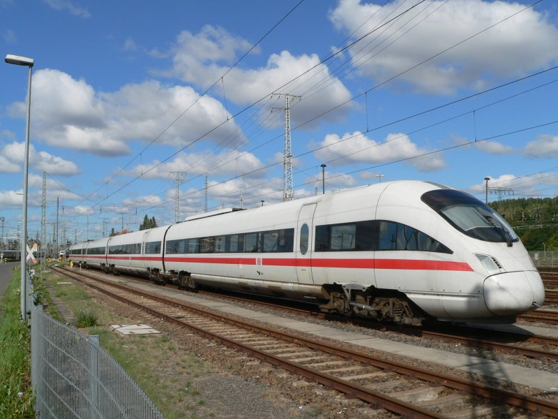 German high speed train ICE-TD in Berlin Rummelsburg (open day), 2008-09-13