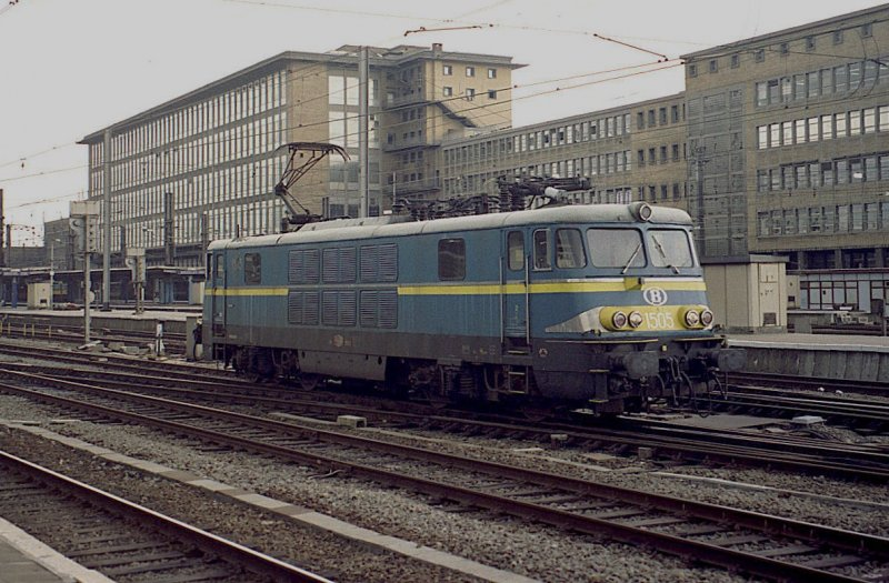 SNCB 1503 in Brussels South Station