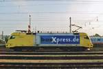 BoxXpress (the fast service of TX Log) U2-018 runs round in Domauwörth on 24 May 2008.