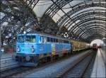 1042 520-8 pictured with a special train in Dresden main station on December 28th, 2012.
