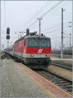 The ÖBB 1144 204-3 is arriving at Wörgel.