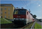 The ÖBB 1144 035 with a City-Shuttle to Lindau near Bregenz.