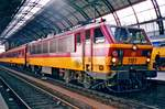 NMBS 1181 ends het journey from Bruxelles-Midi at Amsterdam CS on 5 October 1997.