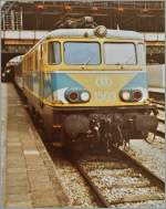 The SNCB 1503 in Amterdam CS.
