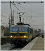 HLE 2739 with M 4 cars is arriving in Bruxelles Nord on February 27th, 2009.