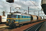 Cereals train with 2240 passes through Antwerpen-Berchem on 18 May 2003.