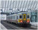 . AM70 646 photographed in Liège Guillemins on November 23rd, 2013.