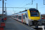 Exceptionnally, during works on the Ghent-Bruges track section, a Desiro EMU is commuting between Bruges and Knokke.