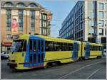 Tram N° 7715 pictured near the station Bruxelles Midi on March 23rd, 2012.
