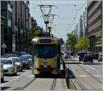 Tram N° 7917 pictured near the station Bruxelles Midi on May 30th, 2009.