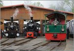 Blonay - Chamby steamers in Chaulin.