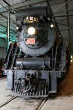 CNR 4-8-4 6153 was built 1929 from Monteral Locomotive Works.
