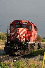CP SD40-2 5745 on 3.10.2009 at Windsor.