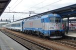 CD 380 009 enters Breclav with EC HUNGARIA from Budapest on 5 May 2016.