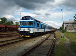 CD 809 342-9 in railway station Neratovice on 16.5.2016