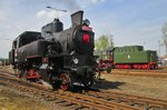 Ex-CSD 423 0145 took part in the loco parade in Wolsztyn on 30 April 2016.