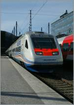 The VR Sm6  Allegro  to Sant Petersburg in Helsinki. 