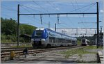 A SNCF TER to Grenoble in La Plaine.