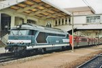 RER with 67464 stands in Mulhouse on 26 July 1998.