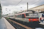 SNCF 67606 with a CoRail service to Laon waits for departure at Paris Nord on 19 September 2004.