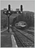 A old picture in an new style: SNCF X 2800 in Morez.