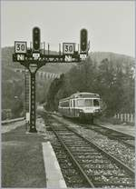 The SNCF XC 2830 in Morez.