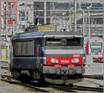 BB 15019 is running through the station of Luxembourg City on February 3rd, 2008.