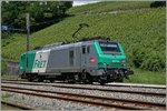 The SNCF  BB 37 059 in La Plaine. 