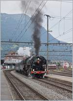 The SNCF 141 R 1244 in Arth Goldau.