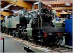 The steam engine 242  Pocono  AT 6 from 1927 pictured in the museum Cité du Train in Mulhouse on June 19th, 2010.