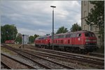 DB V 218 in Lindau.