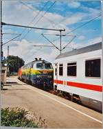 The DB 218 418-2 and an othoer one in Lindau Hbf. 