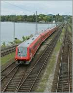 A VT 611 028 and an other one in Lindau. 20.09.2011