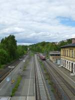 Here a few about the station of Oberkotzau on May 21th 2013.