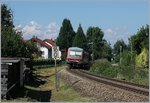 A DB VT 628 on the way to Friedrichshafen by Nonnenhorn.